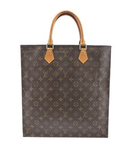 Louis Vuitton Coated Canvas Tote in Brown