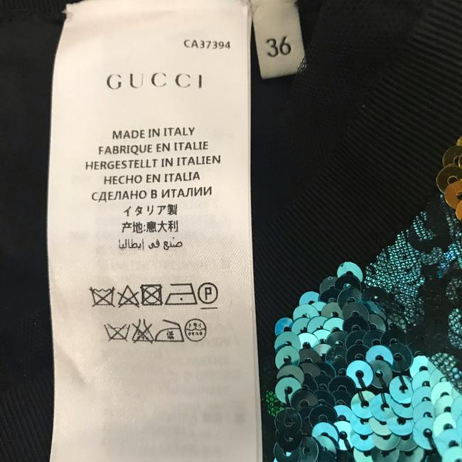 Gucci Skirt Blue, Green multi