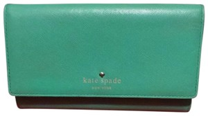Kate Spade Kate Spade Leather green wallet