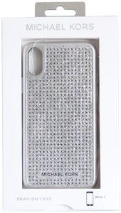 Michael Kors MICHAEL Michael Kors Studded iPhone X Case Silver