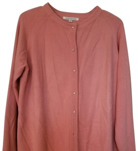 Lord & Taylor Pearl Buttons And Cardigan Sweatshirt
