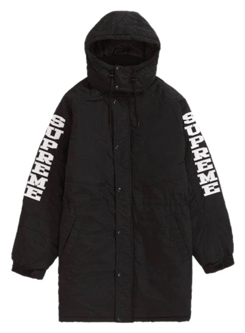 Preload https://img-static.tradesy.com/item/24252874/supreme-black-jacketparka-coat-size-6-s-0-4-650-650.jpg