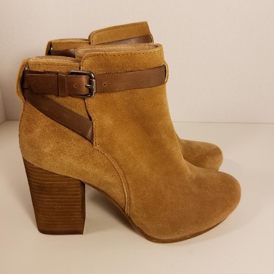 0697c0df090 Madewell Truffle Brown Aimee Suede Ankle Boots/Booties Size US 7 Regular  (M, B) 50% off retail