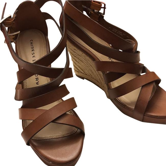 Chinese Laundry Sugar Brown Downtown Wedges Size US 6 Regular (M, B) Chinese Laundry Sugar Brown Downtown Wedges Size US 6 Regular (M, B) Image 1