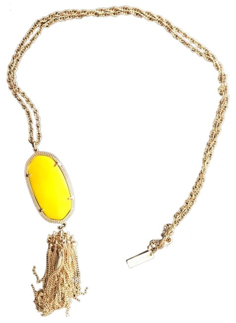 Item - Yellow and Gold Rayne Necklace