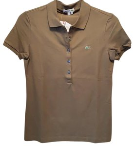 Lacoste T Shirt Bonsai Green