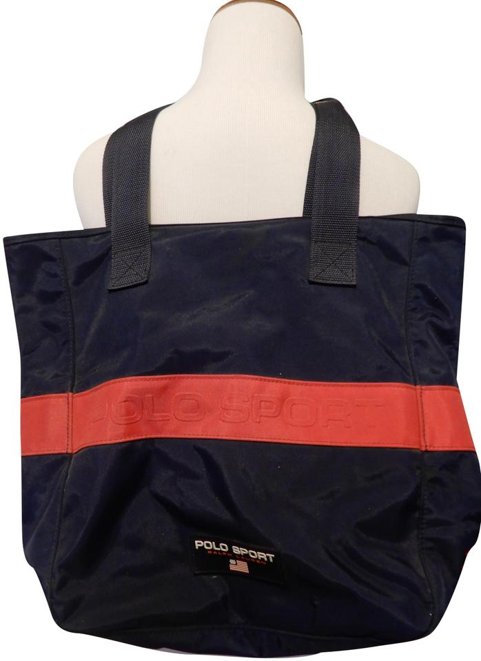 Polo Ralph Lauren Vintage Blue Tote in Navy Image 0 ... 17aa386135afc