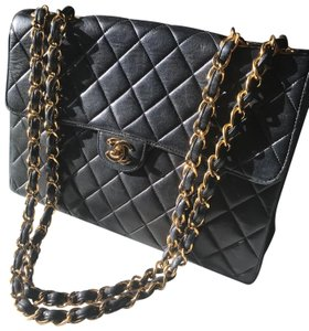 bb1aed41f0e0 Chanel Classic Flap Paris-moscow Square Embossed Quilted Small Black ...