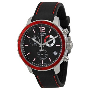Tissot Quickster Date Chronographs Dial Men's Silicone Watch