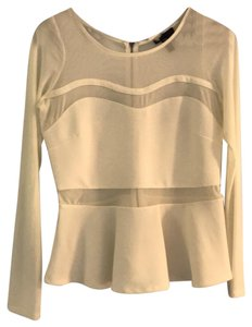 Material Girl Top Off-White