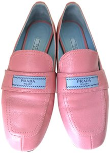 Prada Leather Pink Flats