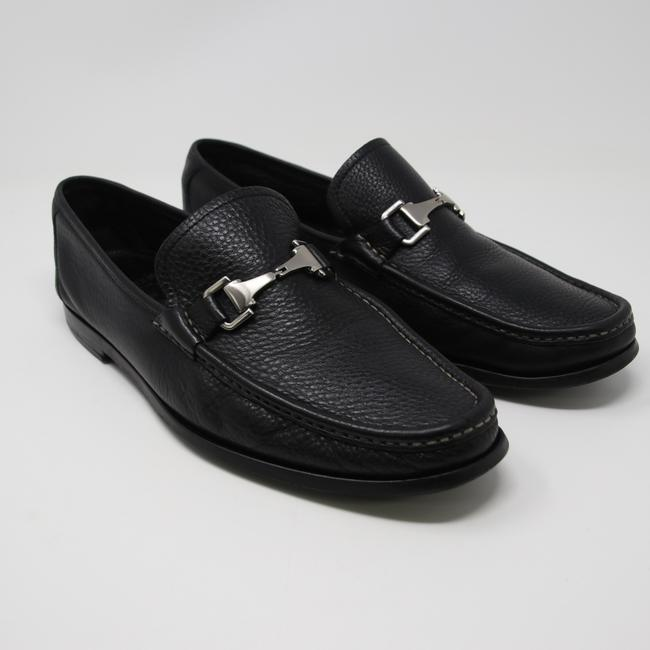 Item - Black Firenze Leather Loafers Size Us 11 Mx2001 Shoes