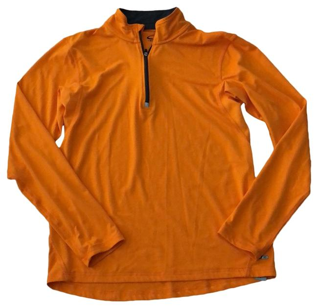 Item - Orange Gray Trim Activewear Size 6 (S)