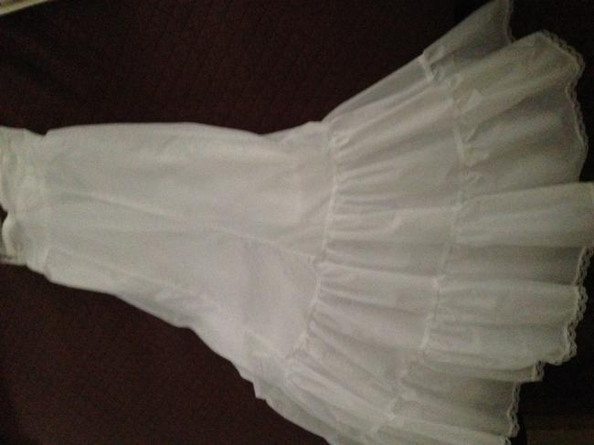 Item - White/Ivory Fit and Flare Slip