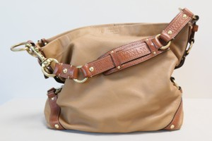 Coach Leather Leather Tote Hobo Bag