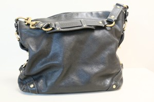 Coach Leather Carly Tote Hobo Bag