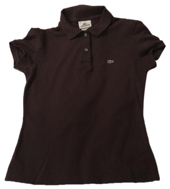 Preload https://img-static.tradesy.com/item/24255634/lacoste-brown-tee-shirt-size-4-s-0-3-650-650.jpg