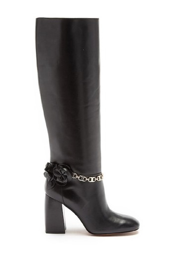 Preload https://img-static.tradesy.com/item/24255799/tory-burch-black-blossom-leather-knee-high-bootsbooties-size-us-8-regular-m-b-0-0-540-540.jpg