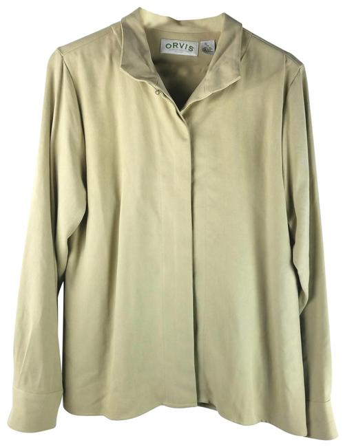 Preload https://img-static.tradesy.com/item/24255813/orvis-tan-silk-button-up-blouse-size-14-l-0-1-650-650.jpg