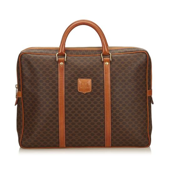 Preload https://img-static.tradesy.com/item/24255818/celine-macadam-briefcase-brown-plastic-x-pvc-x-leather-x-others-laptop-bag-0-0-540-540.jpg