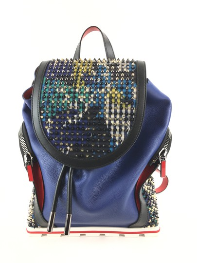 Preload https://img-static.tradesy.com/item/24255828/christian-louboutin-explorafunk-blue-leather-backpack-0-0-540-540.jpg