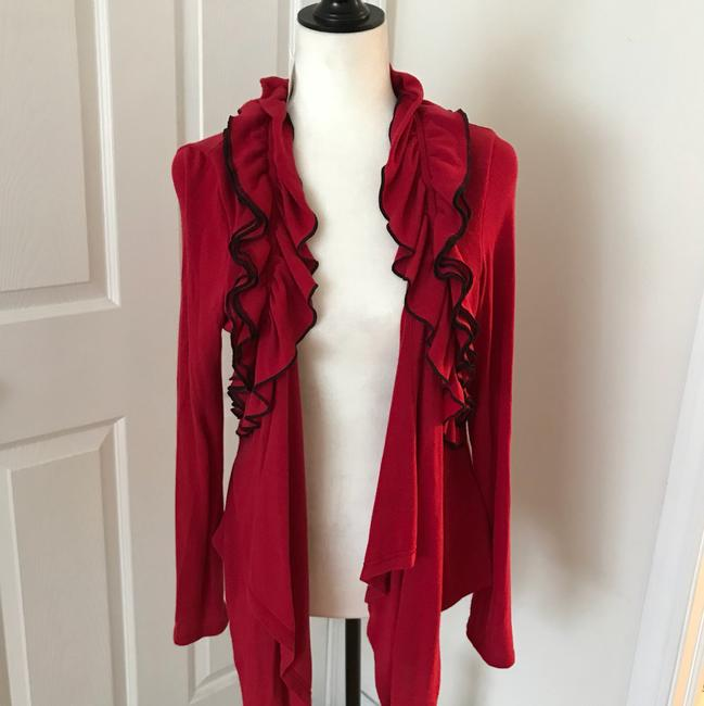 Preload https://img-static.tradesy.com/item/24255847/mcm-red-cardigan-size-petite-12-l-0-2-650-650.jpg
