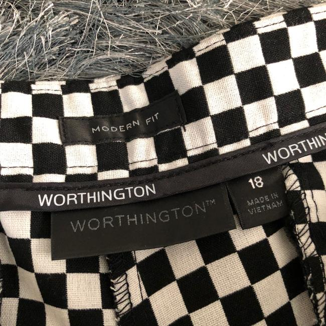 Worthington Dress Shorts BLACK WHITE