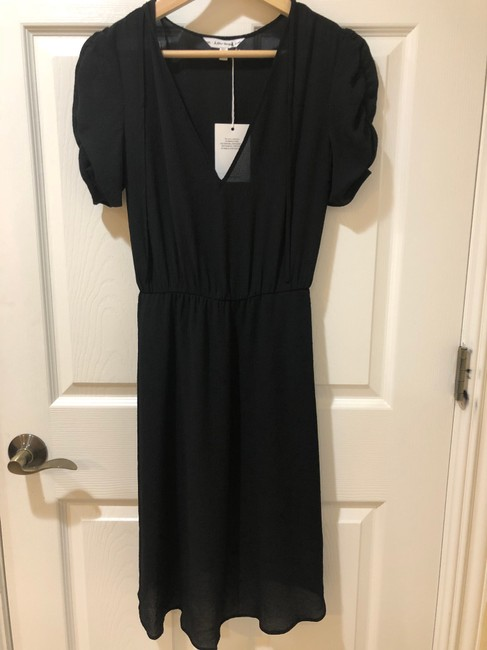 Preload https://img-static.tradesy.com/item/24255893/-and-other-stories-black-neck-tie-mid-length-cocktail-dress-size-2-xs-0-2-650-650.jpg