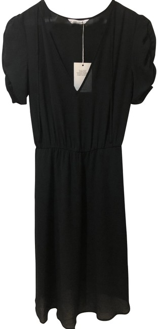 Preload https://img-static.tradesy.com/item/24255893/-and-other-stories-black-neck-tie-mid-length-cocktail-dress-size-2-xs-0-3-650-650.jpg