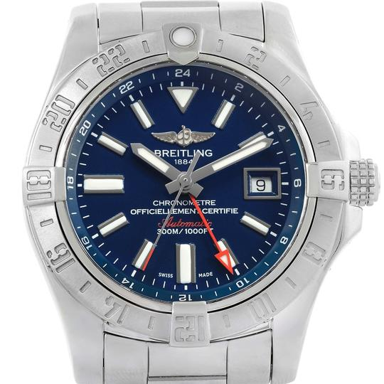 Preload https://img-static.tradesy.com/item/24255907/breitling-blue-aeromarine-avenger-ii-gmt-dial-a32390-box-watch-0-2-540-540.jpg