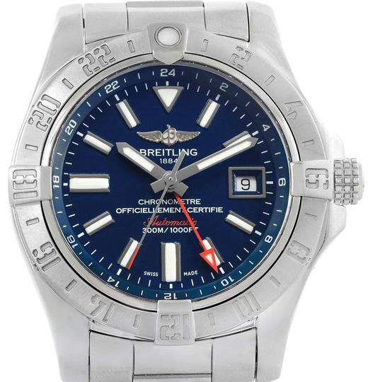 Preload https://img-static.tradesy.com/item/24255907/breitling-blue-aeromarine-avenger-ii-gmt-dial-a32390-box-watch-0-3-540-540.jpg