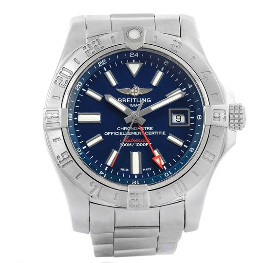 Breitling Breitling Aeromarine Avenger II GMT Blue Dial Watch A32390 Box