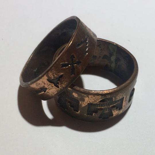 Preload https://img-static.tradesy.com/item/24255926/copper-double-brass-tribal-ring-0-2-540-540.jpg