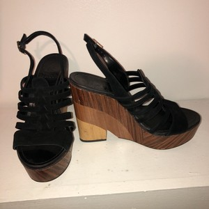 Vince Camuto black Wedges