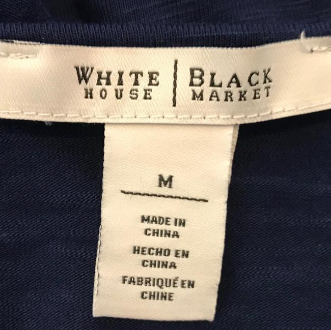 White House | Black Market Top blue
