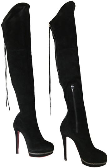 Preload https://img-static.tradesy.com/item/24255964/christian-louboutin-black-unique-36it-platform-zip-thigh-high-over-knee-heel-lady-red-sole-suede-boo-0-3-540-540.jpg