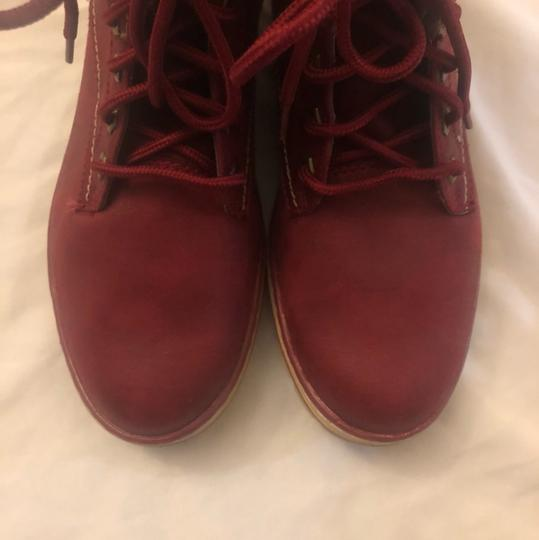 White Mountain Red Boots