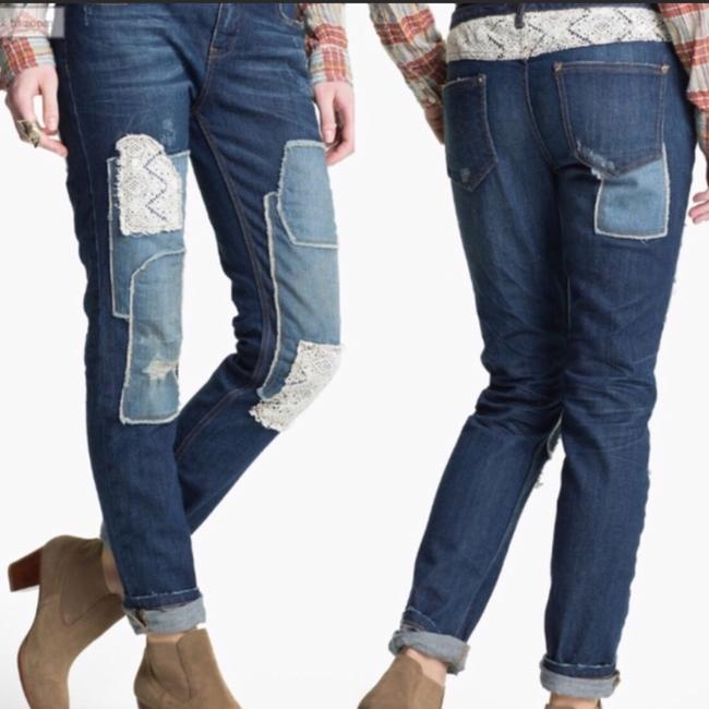 Free People Skinny Jeans-Distressed