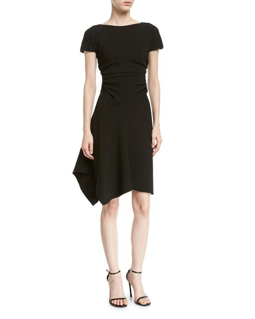 Preload https://img-static.tradesy.com/item/24255999/halston-black-mid-length-workoffice-dress-size-8-m-0-0-650-650.jpg