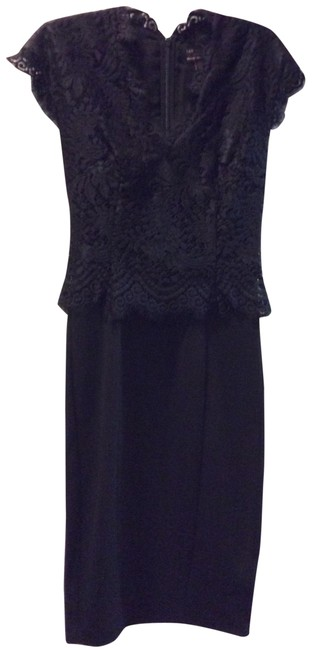 Preload https://img-static.tradesy.com/item/24256041/ted-baker-black-sarvani-lace-bodice-mid-length-cocktail-dress-size-2-xs-0-4-650-650.jpg