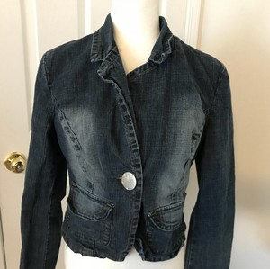 Younique Clothing blue Womens Jean Jacket