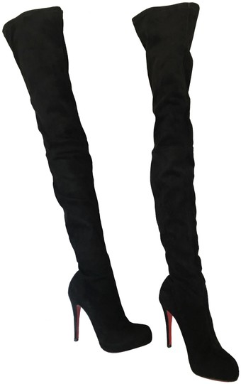 Preload https://img-static.tradesy.com/item/24256079/christian-louboutin-black-375it-platform-thigh-high-over-knee-heel-lady-alti-red-sole-toe-suede-boot-0-4-540-540.jpg