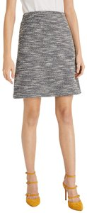 Club Monaco Skirt Gray, Black