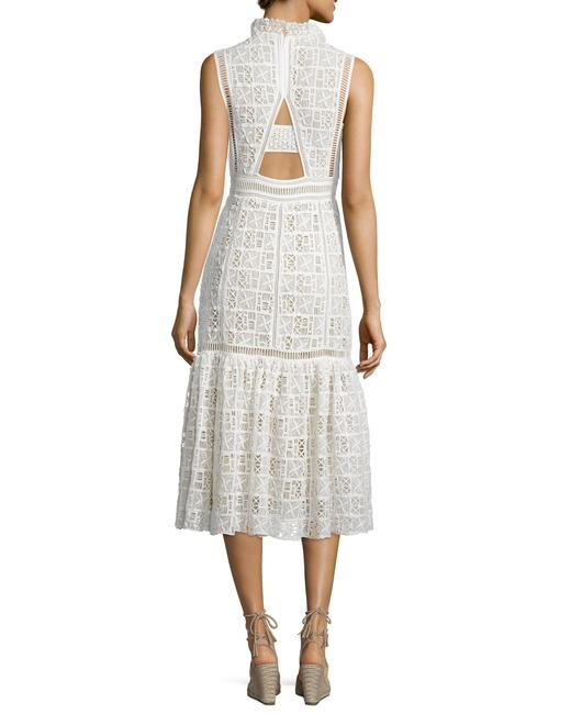 White Maxi Dress by Rebecca Taylor Reformation Tory Burch Haute Hippie Elizabeth James Zimmermann