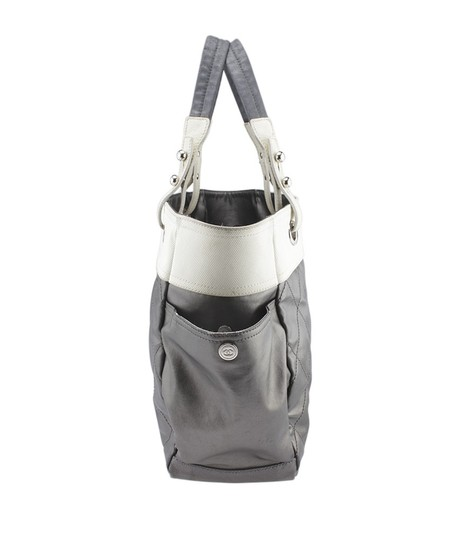 Chanel Leather Tote in Grey