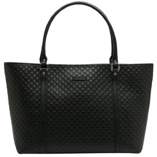 Preload https://img-static.tradesy.com/item/24256138/gucci-large-guccissima-soft-leather-black-tote-0-1-540-540.jpg