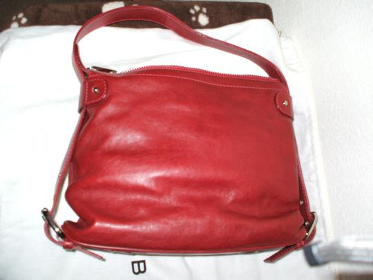 Marc by Marc Jacobs Adjustable Strap Satchel in Burgundy