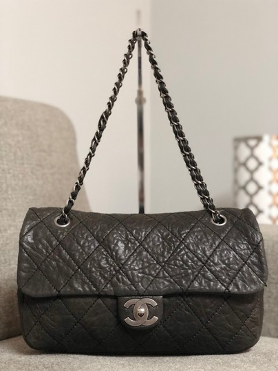 Preload https://item4.tradesy.com/images/chanel-distressed-calfskin-le-marais-ligne-flap-black-purse-shoulder-bag-24256213-0-2.jpg?width=440&height=440