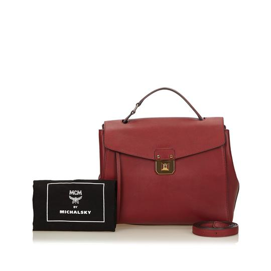 MCM 8imchb005 Satchel in Red