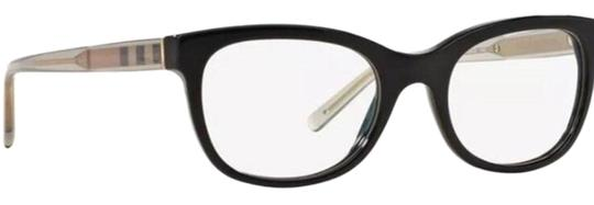 Burberry Women Square Eyeglasses Plastic Frame with Demo Lens